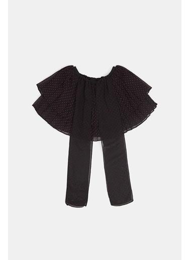 BG Baby Kız Bebek Siyah Etek 20Pfwbg2303 Siyah